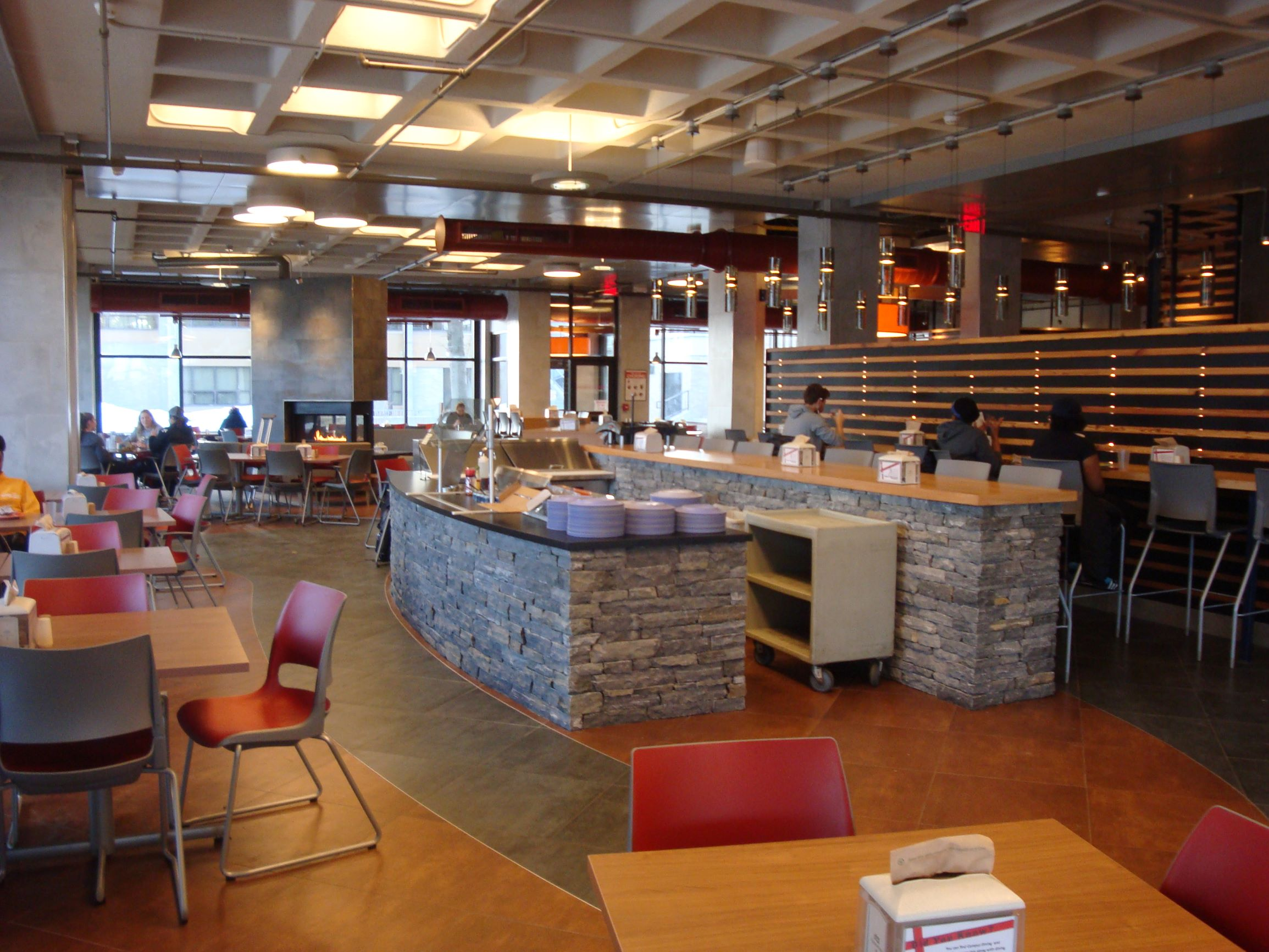 Clinton Dining Hall Seating