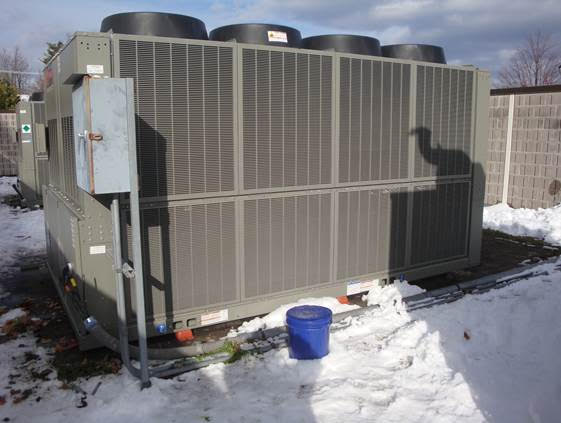 Hawkins Chiller Project, Exterior Unit View 1