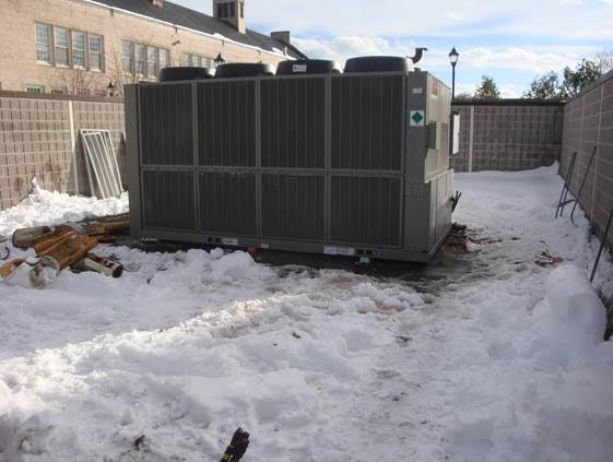 Hawkins Chiller Project, Exterior Unit View 2