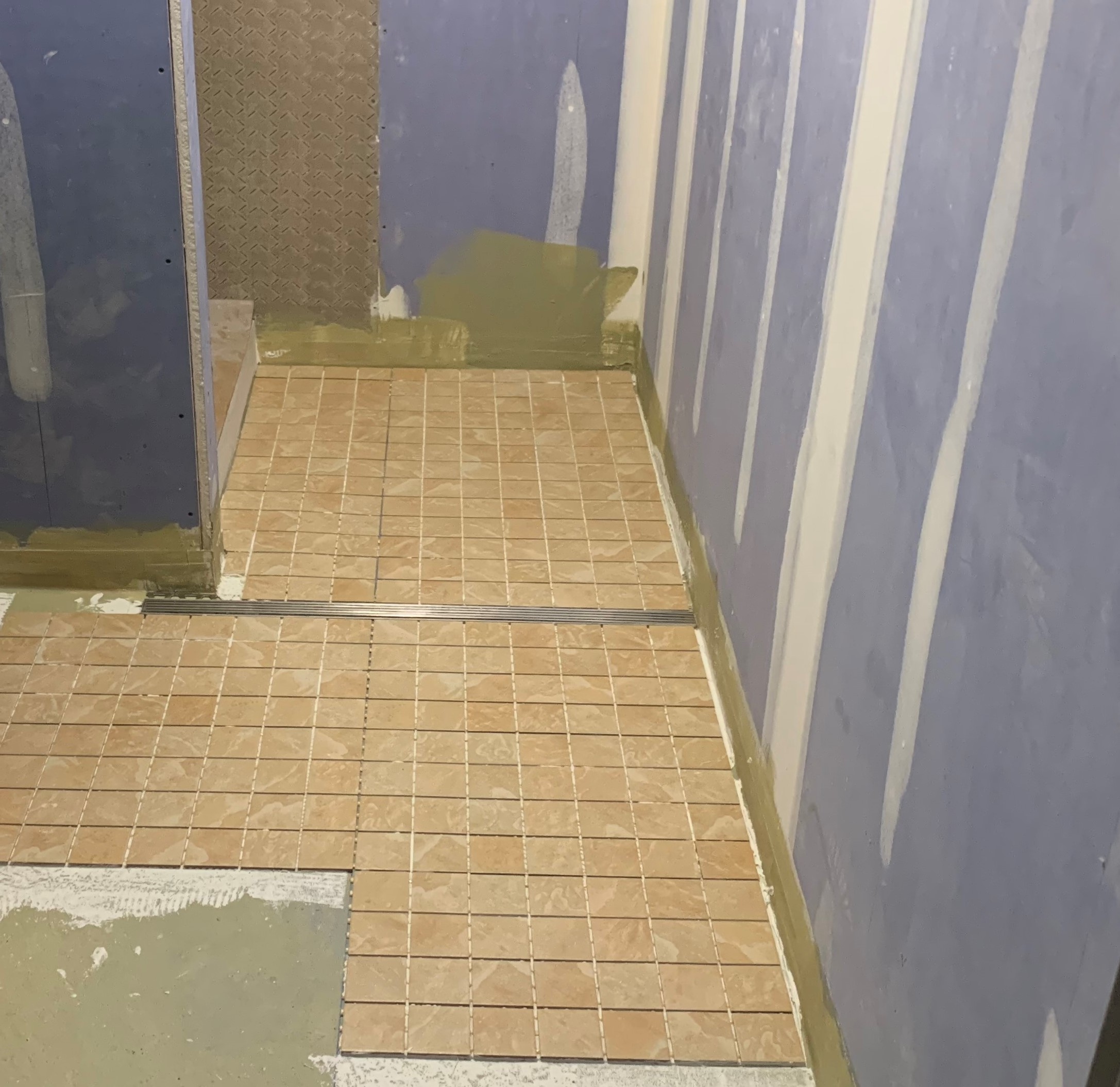 Kent Hall Bathroom Under Renovation