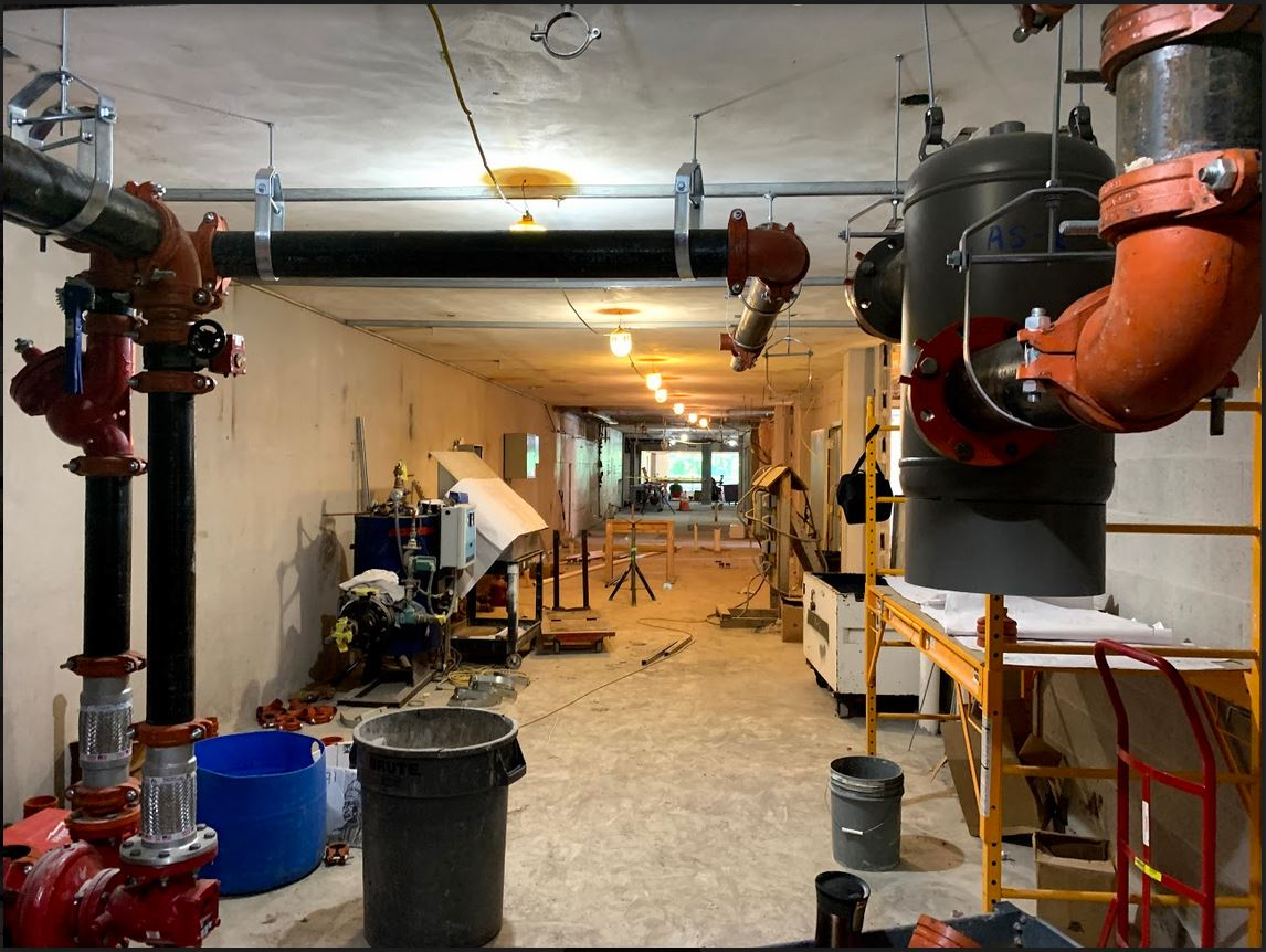 Kent Hall Renovation Interior