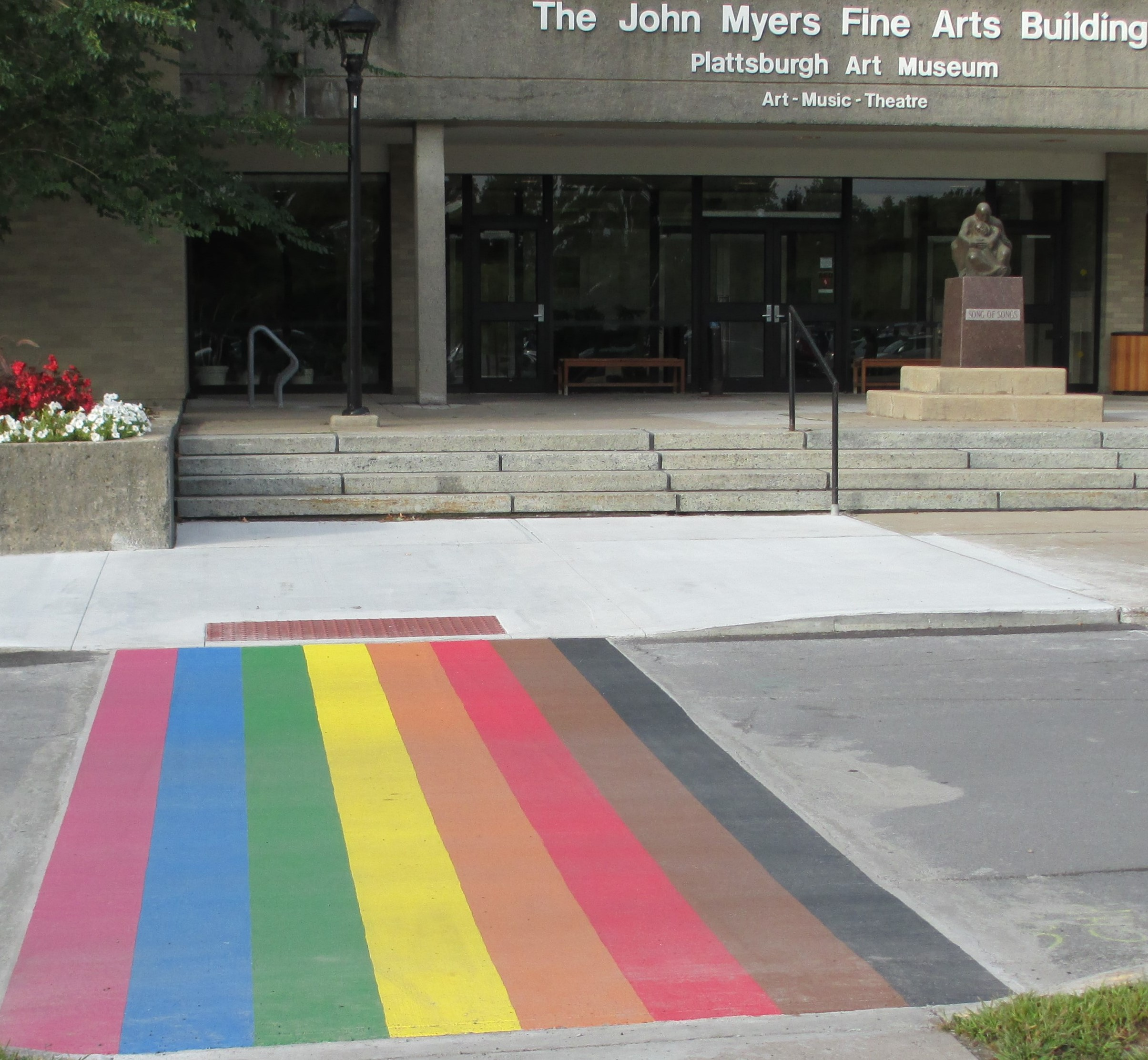 Myers Rainbow Crosswalk