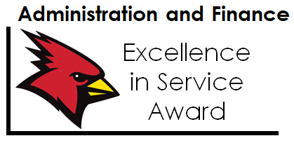Excellence in Service Award logo