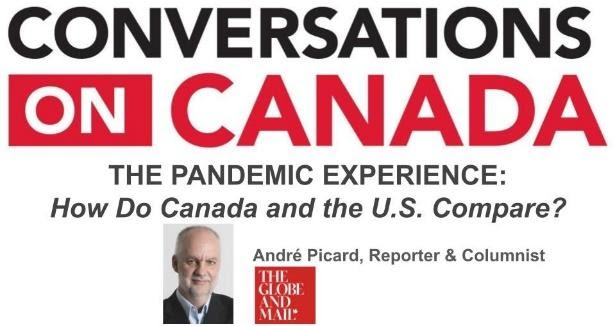 conversations on Canada graphic with image of Andre Picard