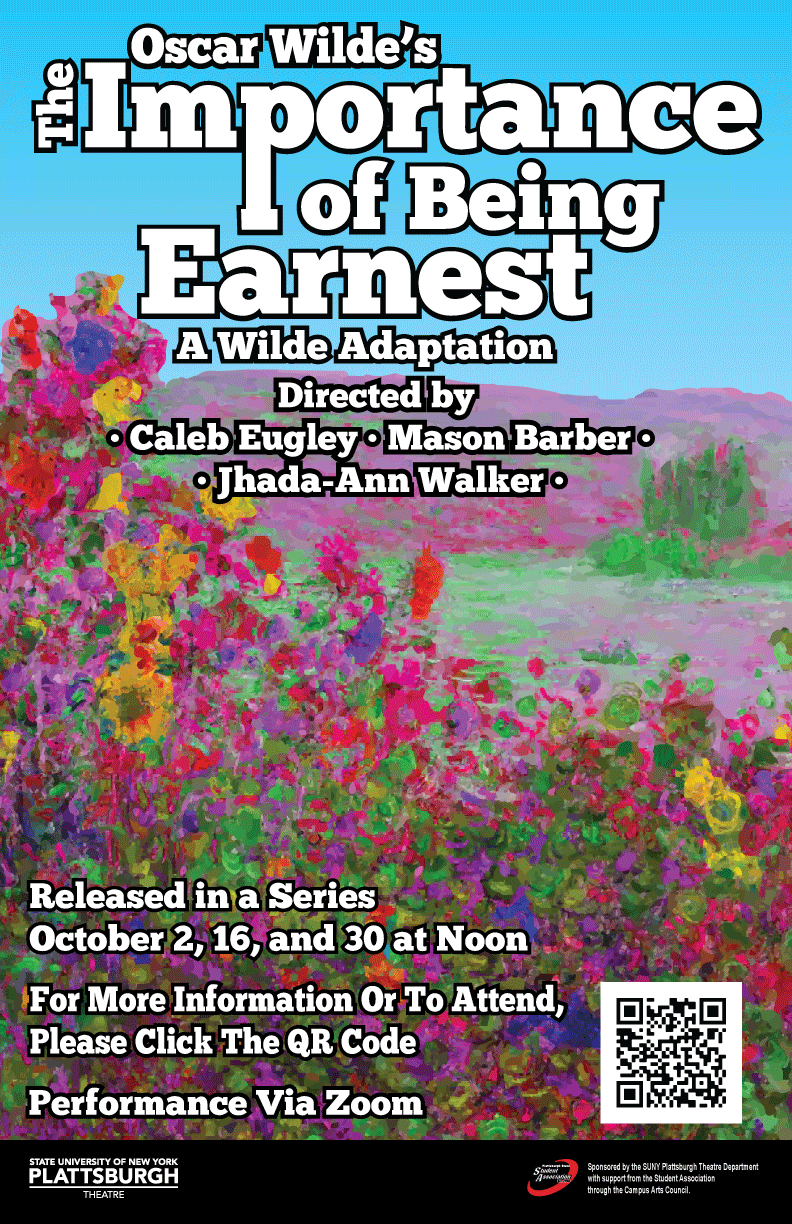 Importance of Being Earnest Poster