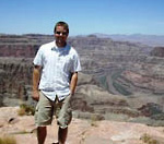 Photo of Tommy McGowen at the Grand Canyon