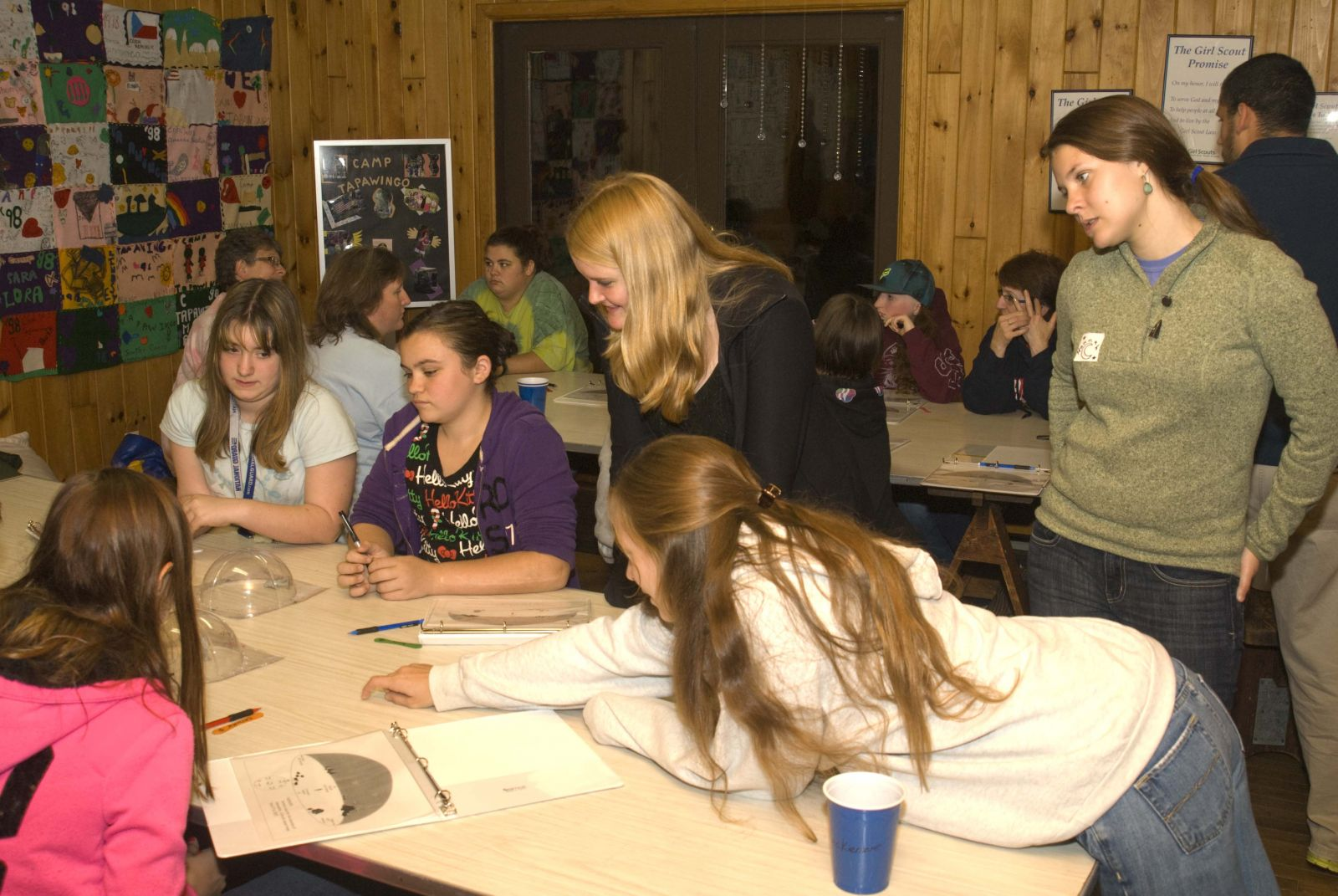 Girl Scouts at Camp Tapawingo