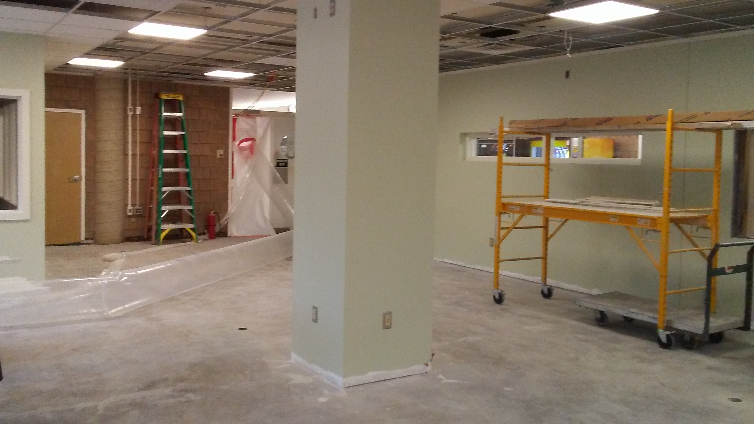Angel College Center's Multicultural Center Renovation Shared Space