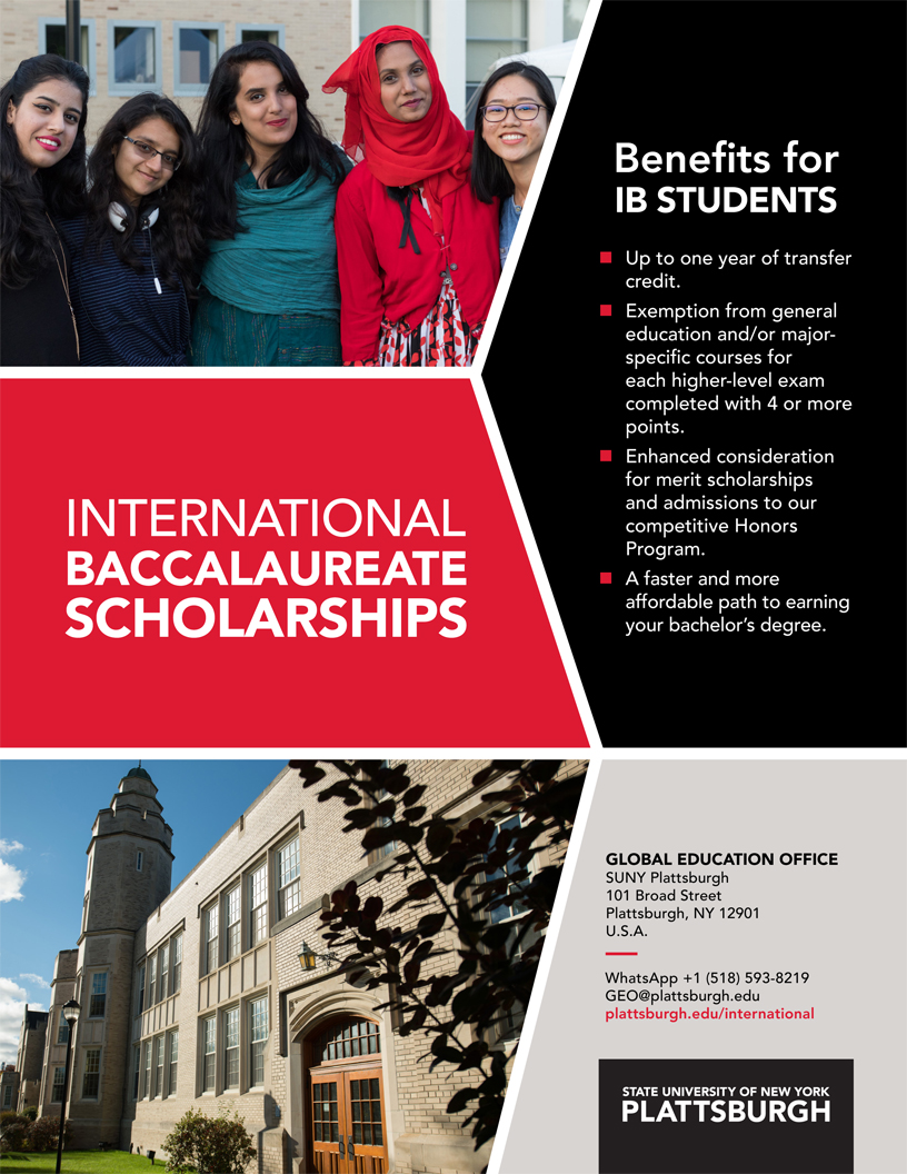 Cover of International Baccalaureate Poster