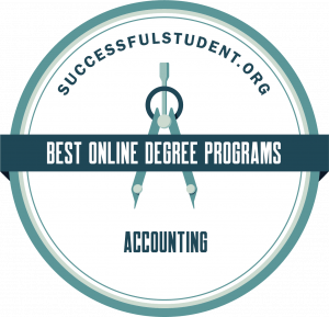 Successful Student best online accounting programs badge