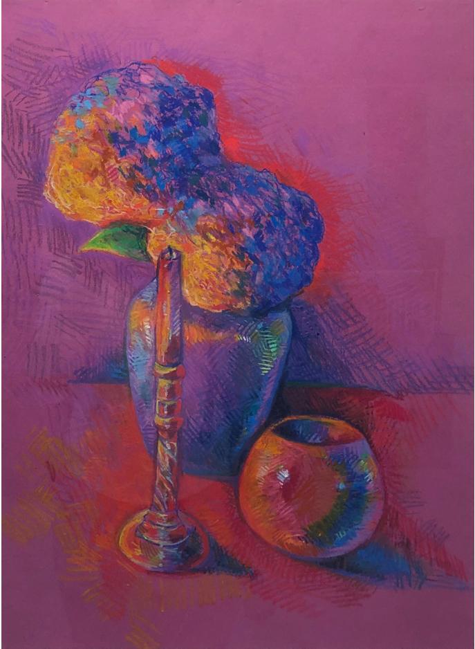 Ashley Orzech Oil Pastel, 2019