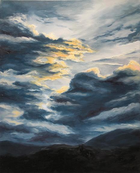 Elsa Koop-Angelicola Oil on Canvas, 2020
