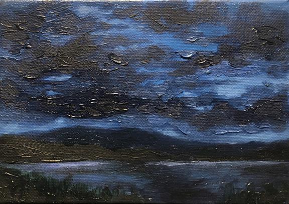 Elsa Koop-Angelicola Oil on Canvas, 2019