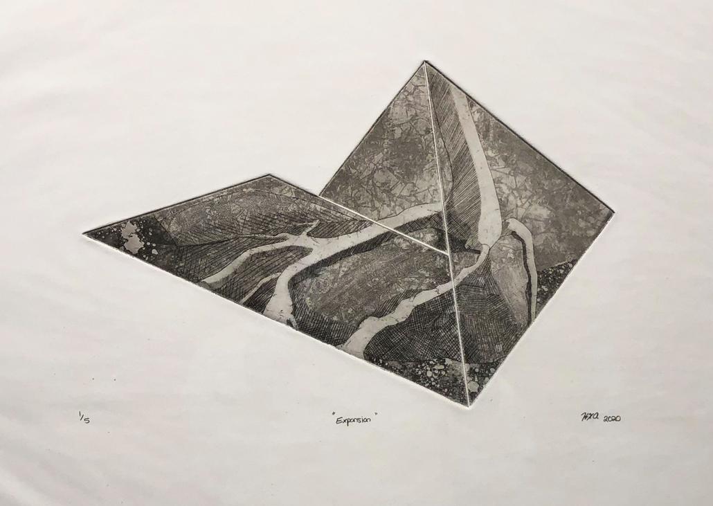 Hannah Austin Intaglio Print, 2020