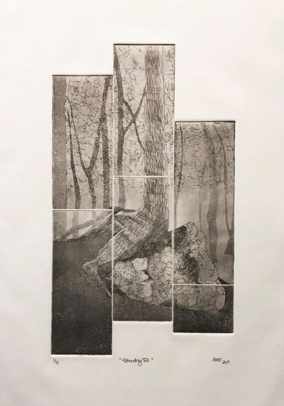 Hannah Austin Intaglio Print, 2019