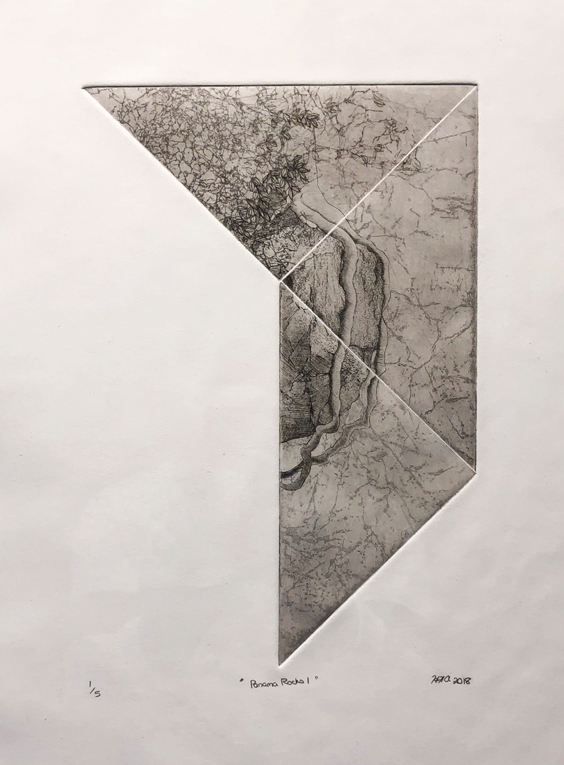 Hannah Austin Intaglio Print, 2018