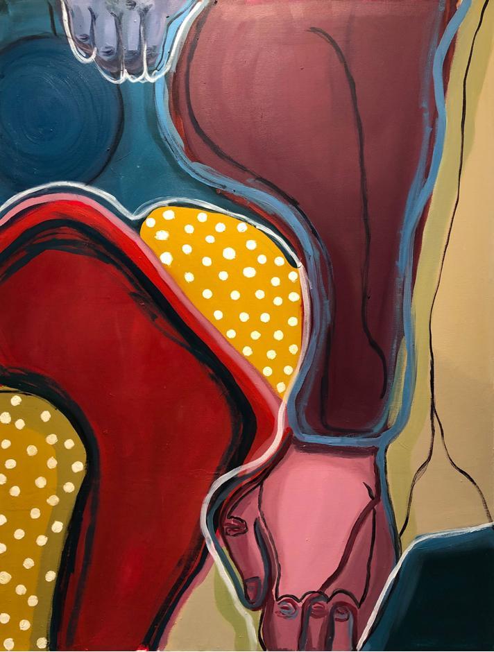 Erin Doescher Oil on Canvas, 2020