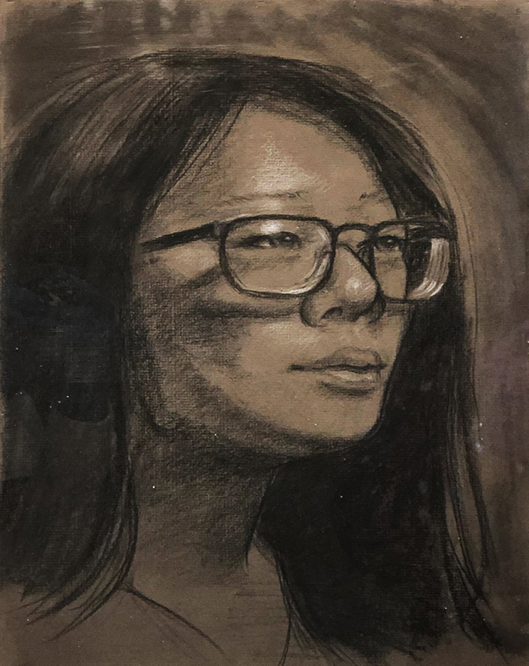 Gregory Gallup Charcoal and Colored Pencil, 2020