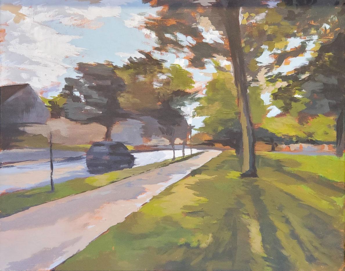 Matt McGarr Acrylic on Canvas, 2019