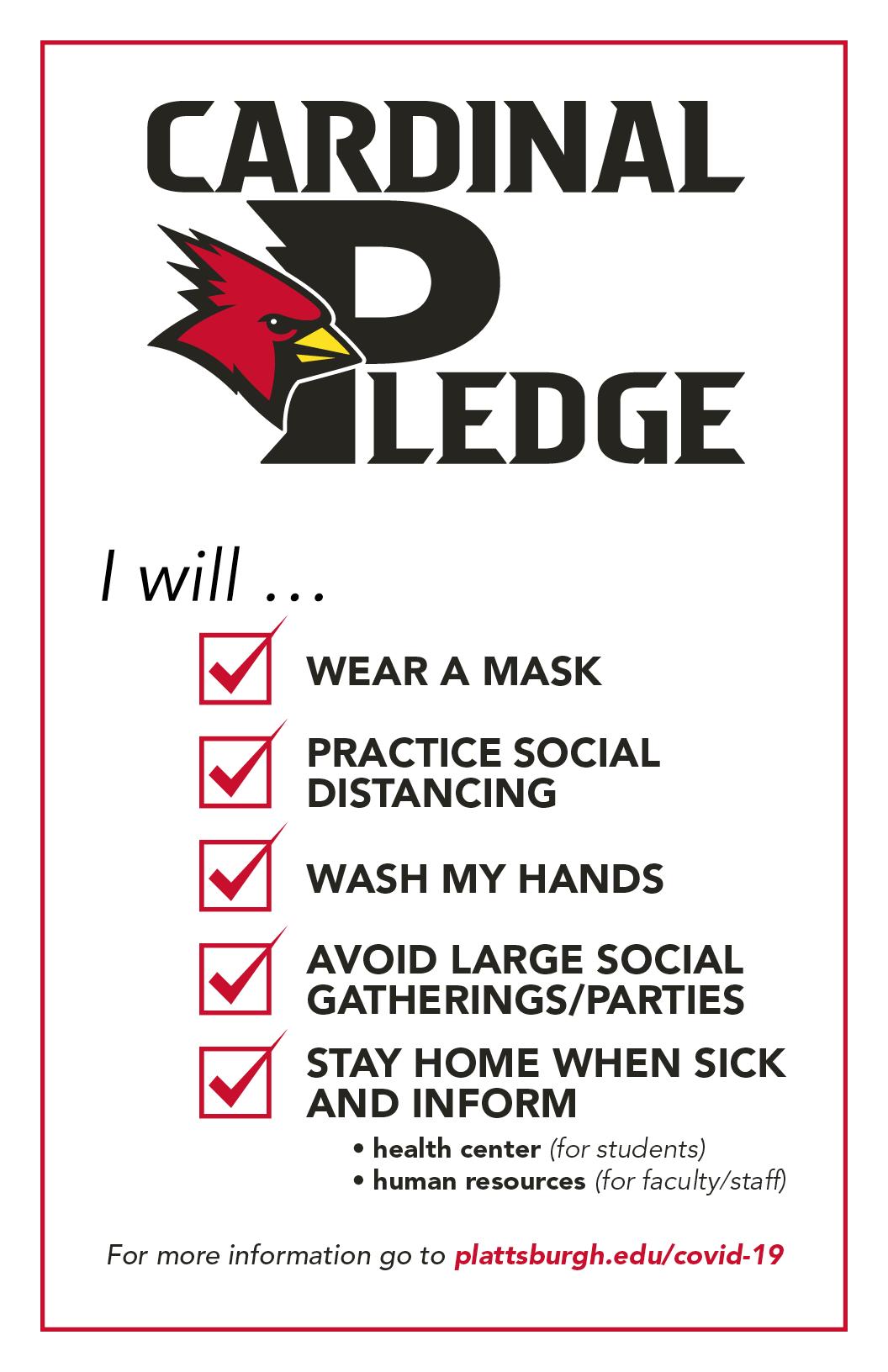 Cardinal Pledge