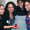 Photo of EOP Alumni at an event in New York City