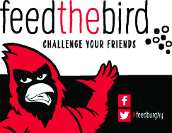 Feed the bird. Challenge your friends!