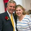 Photo of Bill Laundry and SUNY Plattsburgh alumna