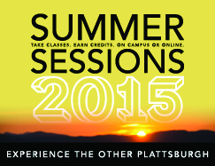Learn about Summer Sessions at SUNY Plattsburgh