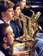 Phot o of Plattsburgh State jazz band