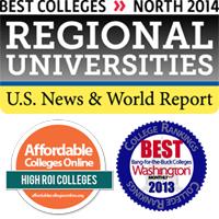 US News Best Colleges North 2014 Winner
