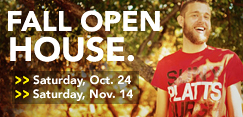 Schedule a Fall Open House visit to SUNY Plattsburgh