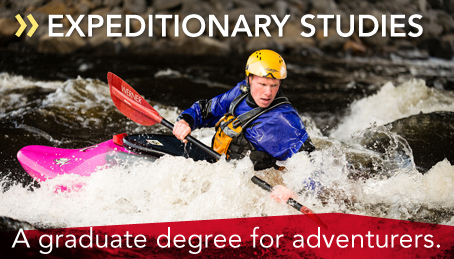 A graduate degree for adventurers