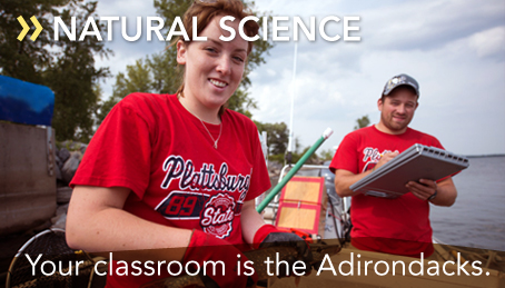 Your classroom is the Adirondacks