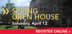 Schedule a visit to SUNY Plattsburgh for Spring Open House
