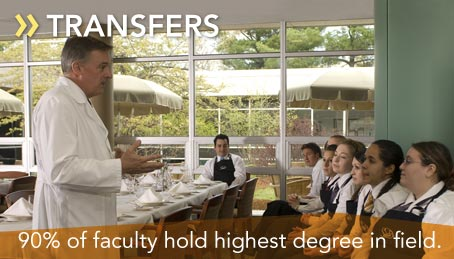 90% of faculty hold highest degree in field