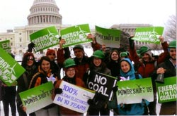 EESC members at Powershift conference in Washington D.C. in Spring 2009