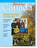 Download the latest issue of Teaching Canada