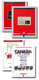 Cover illustrations for the Focus Canada Series