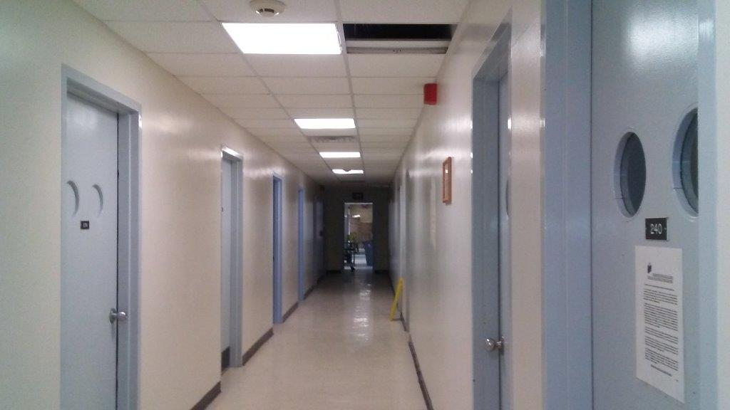 Beaumont Hall Hallway Interior