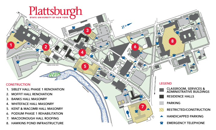 campus construction map.