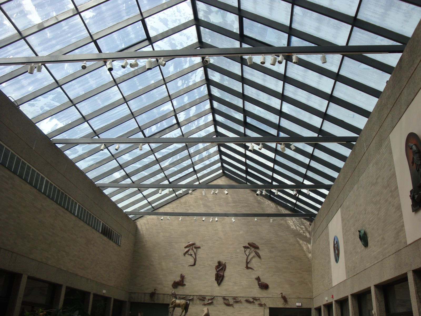 Winkel Court Skylight Replacement Interior View