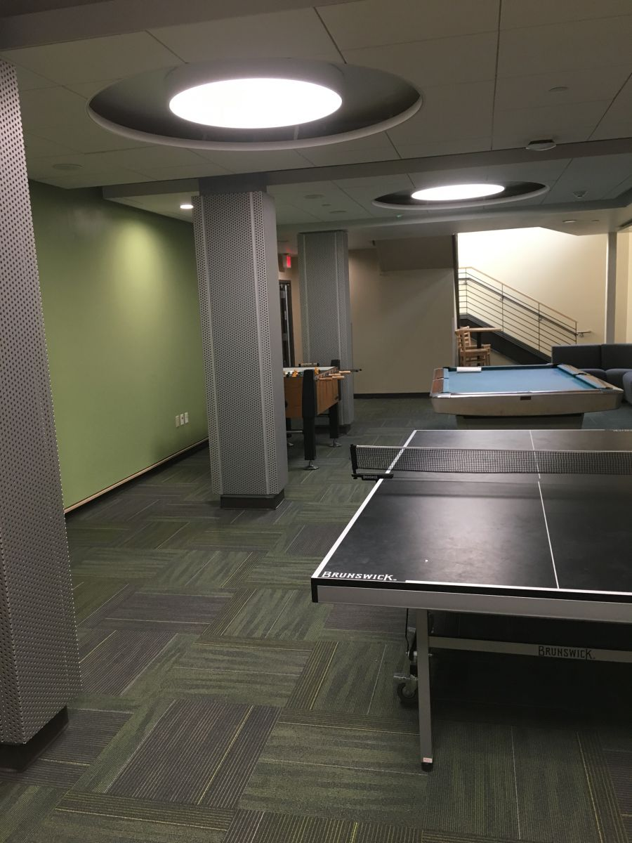 Interior Wilson Hall Rec Room