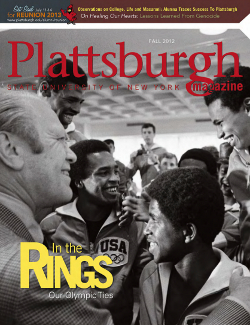 Image shows cover of Fall 2012 Magazine