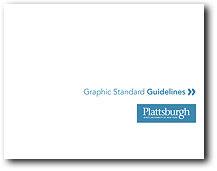 Click on this image to download PDF copy of the SUNY Plattsburgh Graphic Standard Guidelines