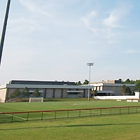 Photo of the Field House. Click to access specific directions and estimated travel times