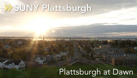Plattsburgh at Dawn