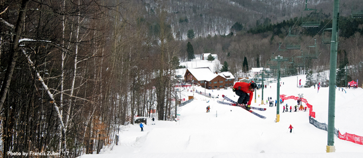 Photo of skier at Whiteface Mountain