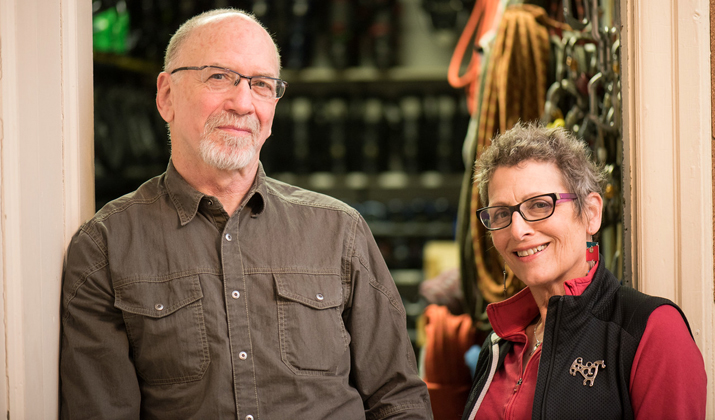 Photo of  Larry Soroka and Cerise Oberman