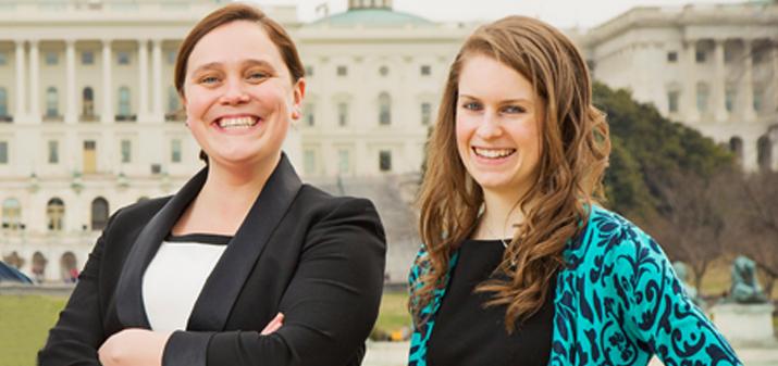 Photo of Katie Garenani and Maura Danehey