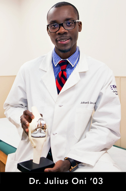 Photo of Dr. Julius Oni '03